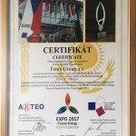 Certifikát potvrzující reprezentaci