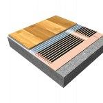 Skladba podlahy – Topná fólie s izolací STARLON